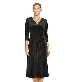 Chaus Velvet A-Line Dress