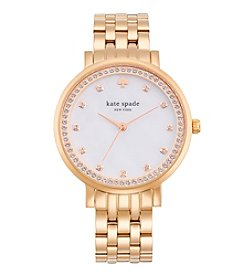kate spade new york® Monterey Rose Goldtone Stainless Steel Watch