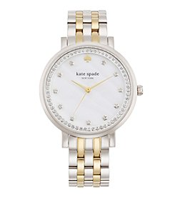 kate spade new york® Monterey Two Tone Stainless Steel Watch