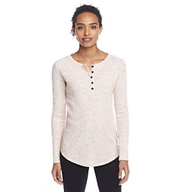 Calvin Klein Performance Henley Thermal Top