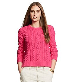 Lauren Ralph Lauren® Plus Size Lelantos Long Sleeve Sweater