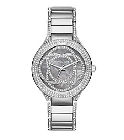 Michael Kors Womens Silvertone Kerry Watch