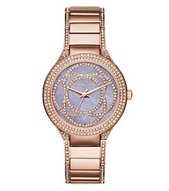 Michael Kors® Women's Rose Goldtone Kerry Watch