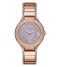 Michael Kors® Women's Rose Goldtone Kerry Watch