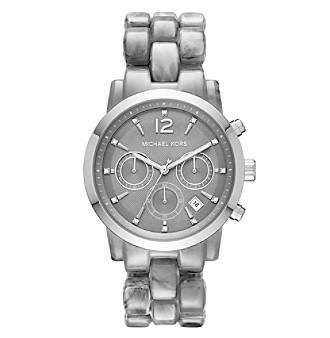Michael Kors® Women's Silvertone Audrina Watch