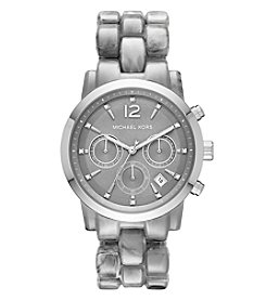 Michael Kors® Women's Silvertone Audrina Watch
