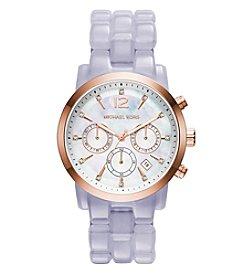 Michael Kors® Women's Rose Goldtone Audrina Watch