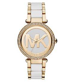 Michael Kors® Women's Goldtone Parker Watch
