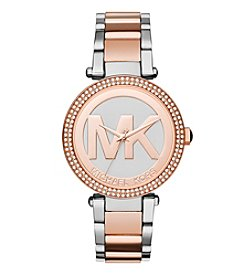 Michael Kors® Women's Two-Tone Parker Watch