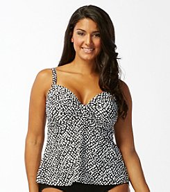 Coco Reef® Plus Size Signature Twist Tankini Top