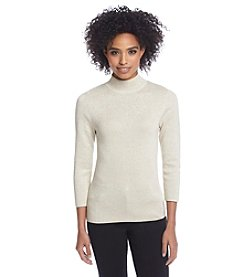 Chelsea & Theodore® Mockneck Pullover