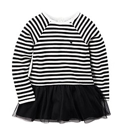 Carter's® Girls' 2T-6X Long Sleeve Striped Fleece Tunic