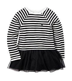 Carter's® Girls' 2T-6X Long Sleeve Striped Fleece Tunic