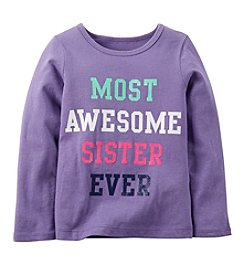 Carter's® Girls' 2T-6X Most Awesome Sister Ever Tee