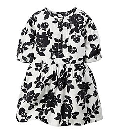 Carter's® Girls' 2T-6X Floral Print Woven Dress