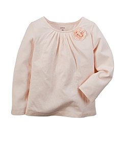 Carter's® Girls' 2T-6X Long Sleeve Floral Tee