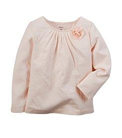 Carter's® Girls' 2T-6X Long Sleeve Floral Tee