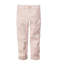 Carter's® Girls' 2T-6X Twill Pants
