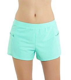 Malibu Side Zip Short Swim Bottom