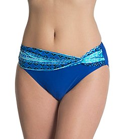 Malibu Twisted Band Hi-Waist Bottom