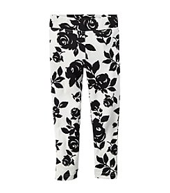 Carter's® Girls' 2T-6X Floral Printed Leggings