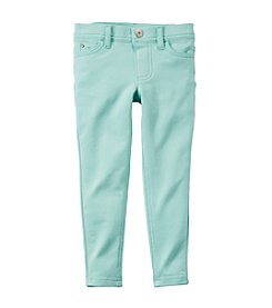 Carter's® Girls' 2T-6X Faux Denim Jeggings