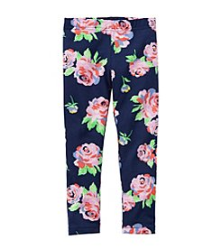 Carter's® Girls' 2T-6X Rose Printed Leggings