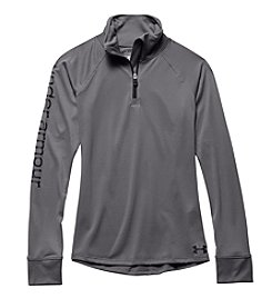 Under Armour® Girls' 7-16 Graphite UA Tech™ Quarter Zip Fleece