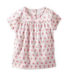 OshKosh B'Gosh® Girls' 2T-6X Floral Printed Tee