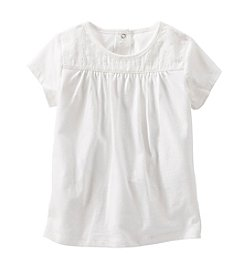 OshKosh B'Gosh® Girls' 2T-6X Eyelet Yoke Top