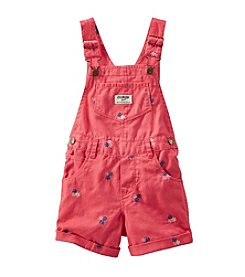 OshKosh B'Gosh® Girls' 2T-6X Floral Printed Shortalls
