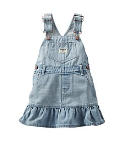 OshKosh B'Gosh® Girls' 2T-6X Denim Jumper