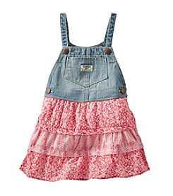 OshKosh B'Gosh® Girls' 2T-6X Embroidered Chambray Peasant Top