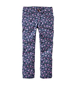 OshKosh B'Gosh® Girls' 2T-6X Floral Printed Jeans