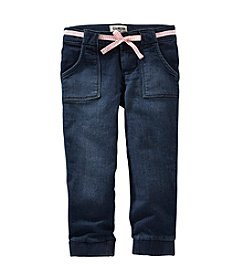 OshKosh B'Gosh® Girls' 2T-6X Knit Cargo Jogger Pants