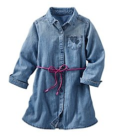 OshKosh B'Gosh® Girls' 2T-6X Chambray Shirt Dress