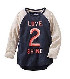 OshKosh B'Gosh® Girls' 2T-6X Love To Shine Long Sleeve Tunic
