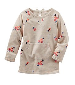 OshKosh B'Gosh® Girls' 2T-6X Floral Printed Long Sleeve Tunic