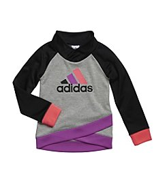 adidas® Girl's 2T-6X Push Up Pullover