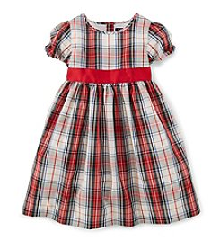 Chaps® 2T-4T Plaid Dress