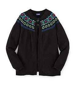 Chaps® Girls' 7-16 Patterned Cardigan