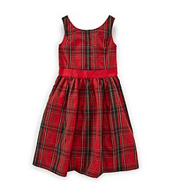 Chaps® 7-16 Gala Plaid Dress