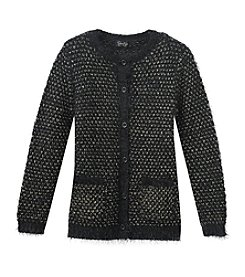 Jessica Simpson Girls' 7-16 Sasha Cardigan