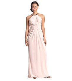 Adrianna Papell® Jersey Halter Gown