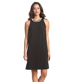 Nine West&Reg; Jeweled Shift Dress