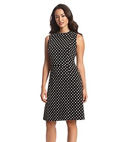 Nine West® Polka Dot Swing Dress