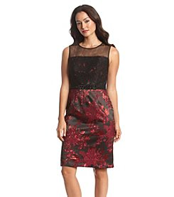 Adrianna Papell® Floral Sheath Dress
