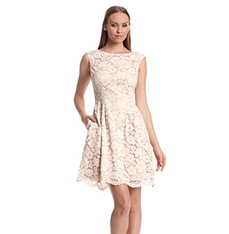 c637a662bb1 UPC 689886748444 product image for Vince Camuto® Lace Fit And Flare Dress