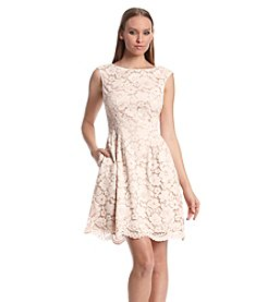 Vince Camuto® Lace Fit And Flare Dress