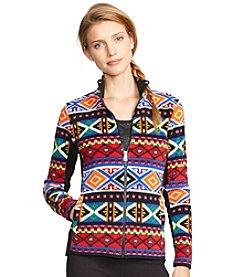 Lauren Active® Geometric Fleece Jacket